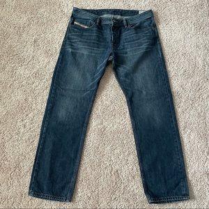 Diesel Waykee Jeans Size 36x30 Mens Blue